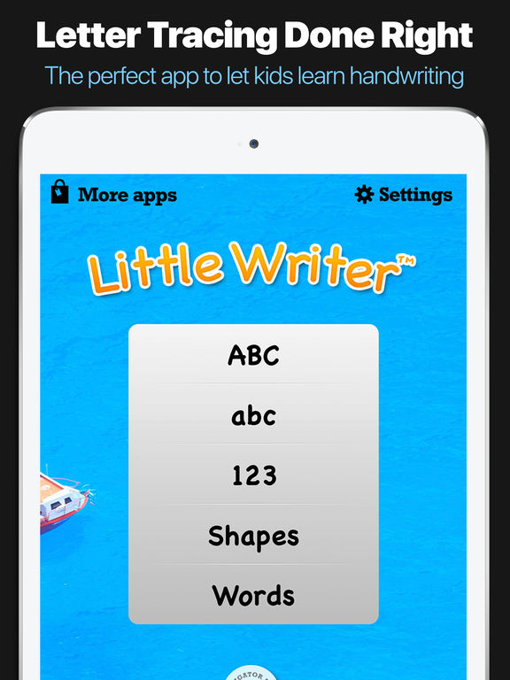 Letter Tracing Apps.Little Writer The Tracing App For Kids Autism Apps