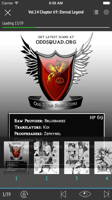 Manga Fox: Read manga online, offline Free Screenshot
