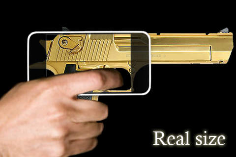 rgDesert Eagle 50AE Gold : Real Guns Screenshot