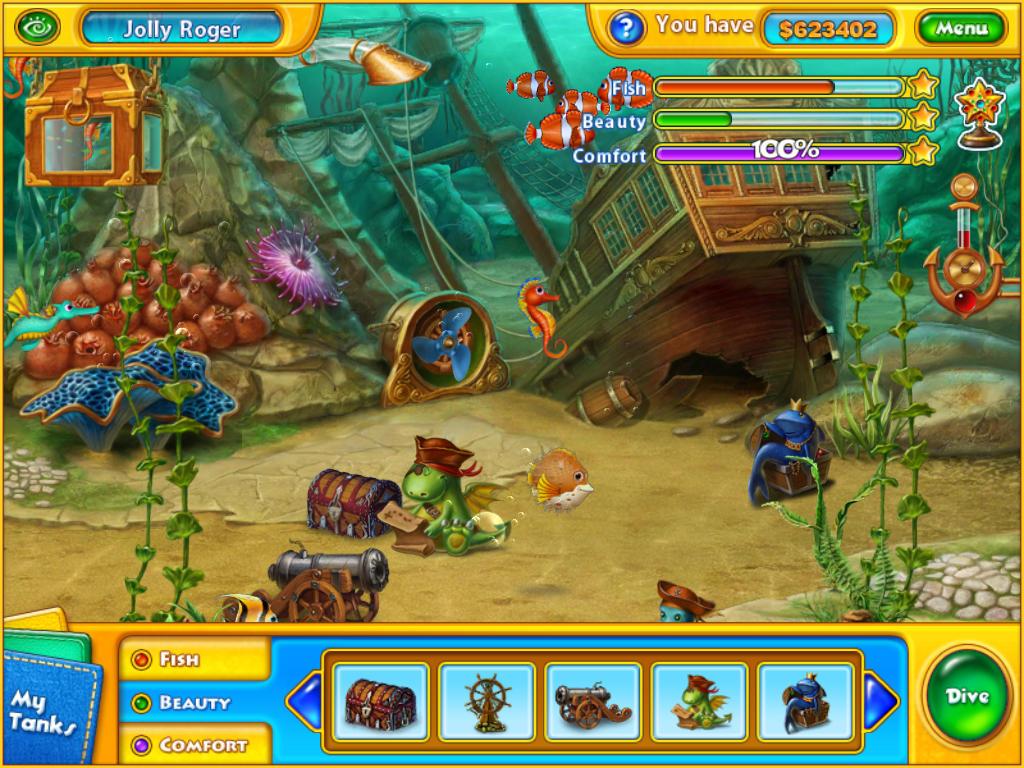 Fishdom H2O: Hidden Odyssey HD (Premium)