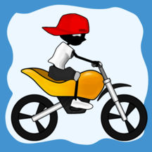 Doodle Moto HD-Free Racing Games for All Girls Boys on iPad iPhone