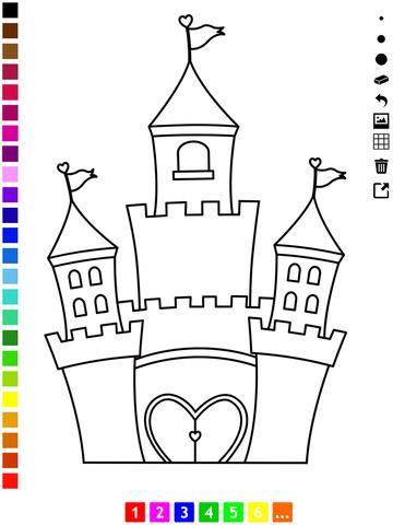 Activo Libro Para Colorear De La Princesa Para Las Niñas Con