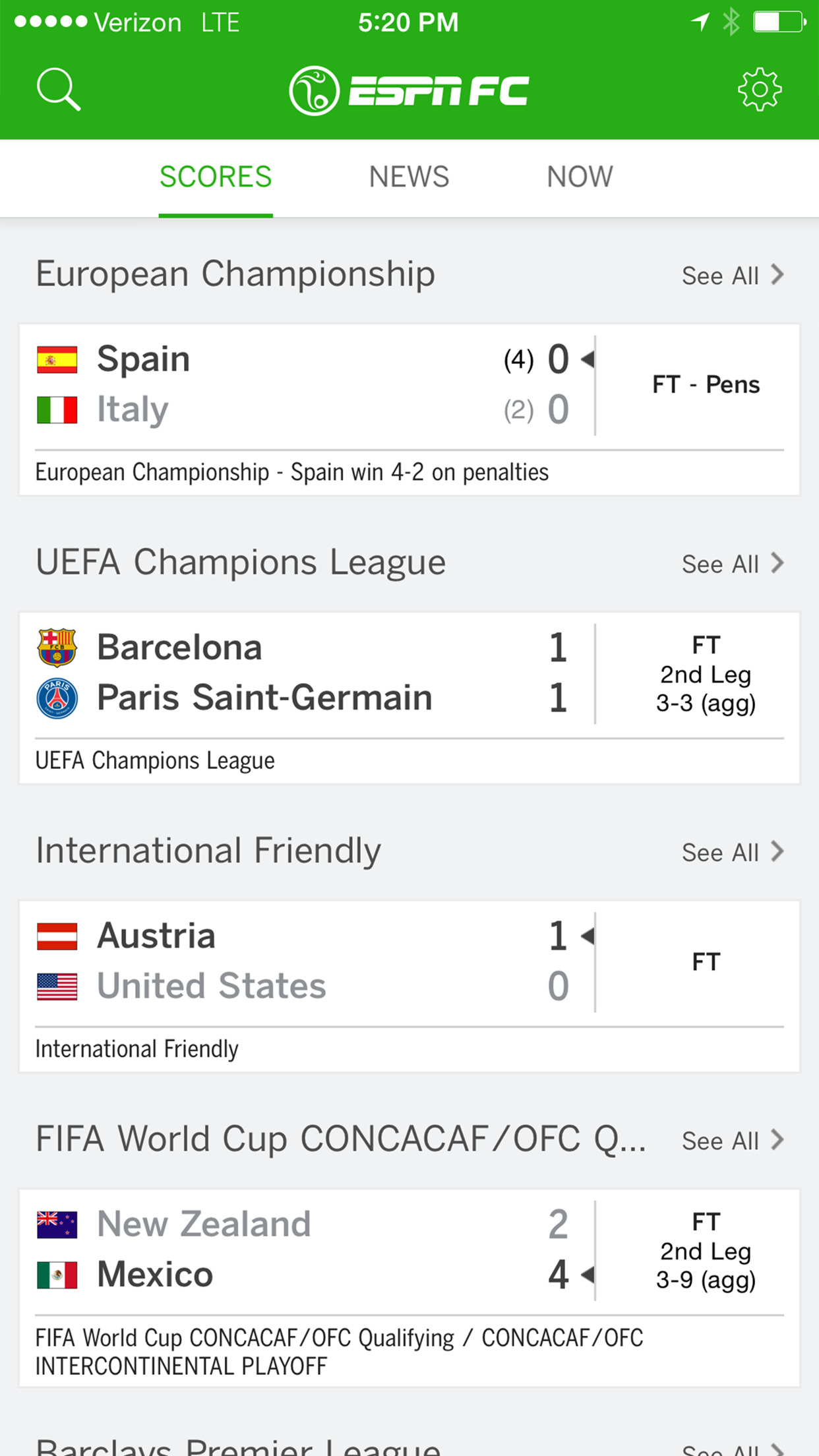 ESPN FC Football screenshot-0