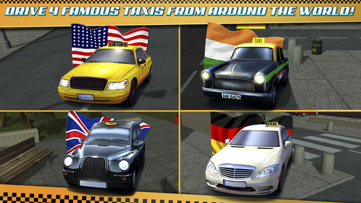 taxi parking simulator gratuit jeux de voiture de course pour iphone ipod touch et ipad dans. Black Bedroom Furniture Sets. Home Design Ideas