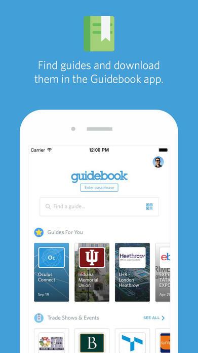 Guidebook Screenshot