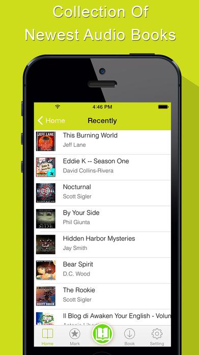 AudioBook - Free Audio Books Player and Streamer Screenshot