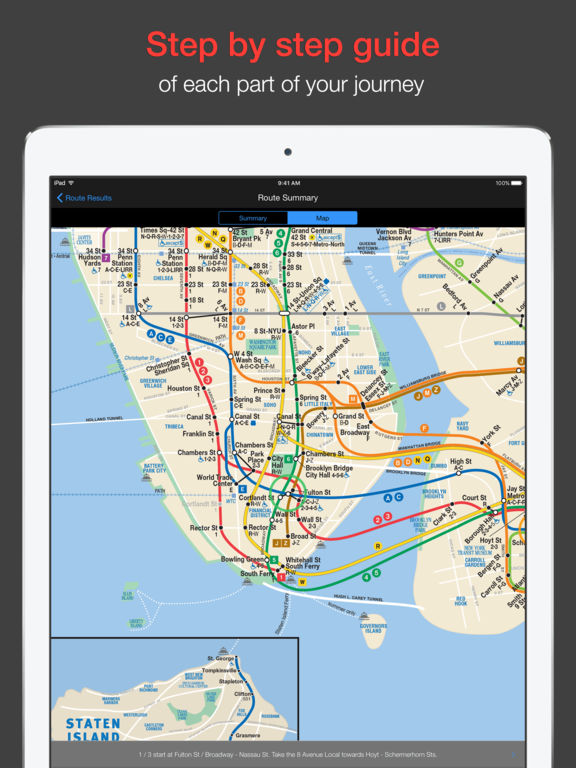 New York Subway - MTA map and route planner Screenshot