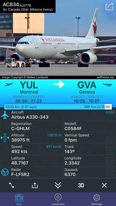 Flight Tracker - Online Status Plane* Screenshot