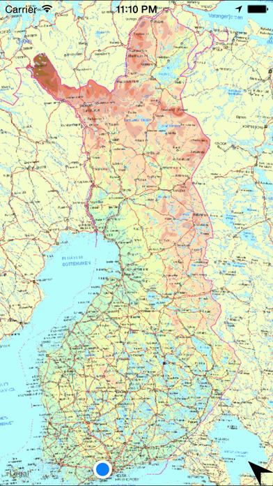 Suomen Hiihtokeskukset Kartalla