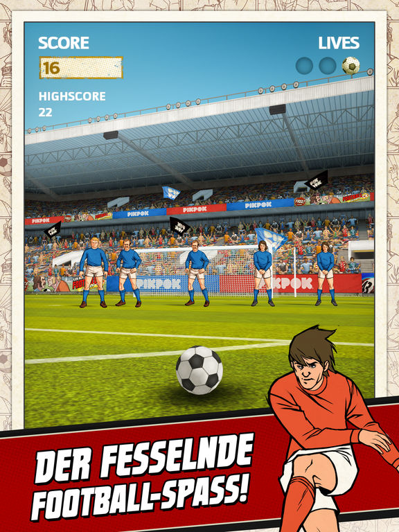 Flick Kick Football Screenshot