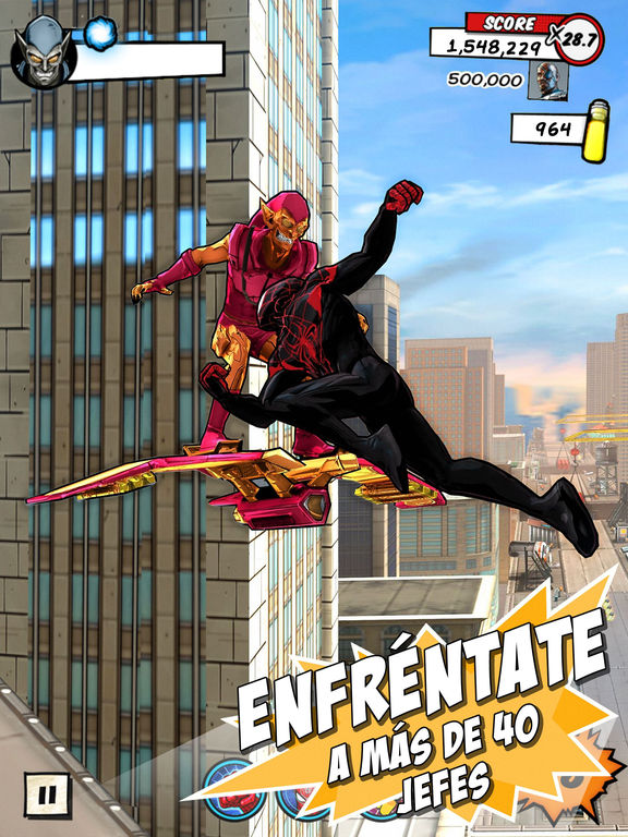 MARVEL MARVEL Spider-Man Unlimited Screenshot