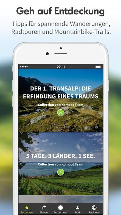 komoot fahrrad wander guide gps navigation im app store. Black Bedroom Furniture Sets. Home Design Ideas