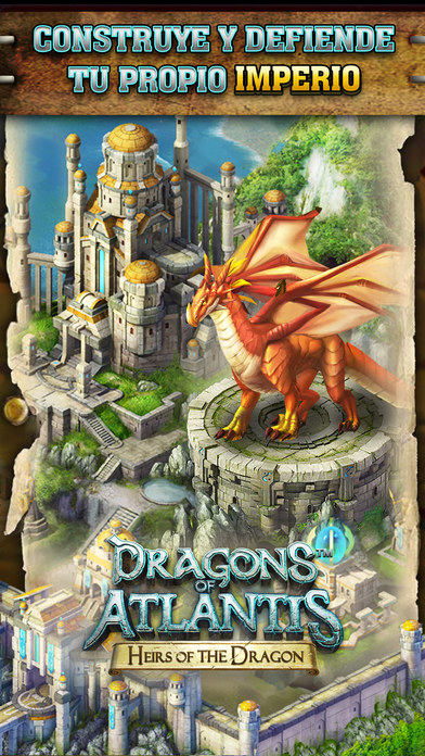 Dragons of Atlantis: Los Herederos del Dragón Screenshot