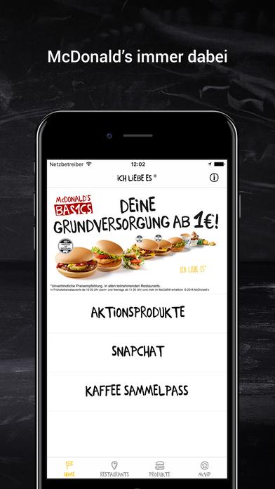 Mcdonalds App Iphone