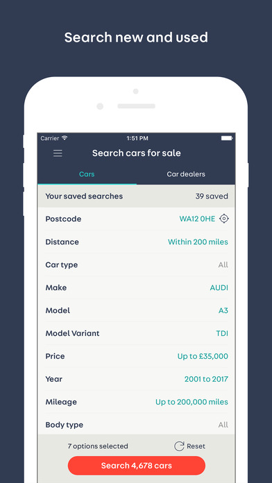 auto trader buy sell value new used cars on the app store. Black Bedroom Furniture Sets. Home Design Ideas