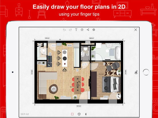 roomle 3d raumplaner interior design f r zuhause im app store. Black Bedroom Furniture Sets. Home Design Ideas