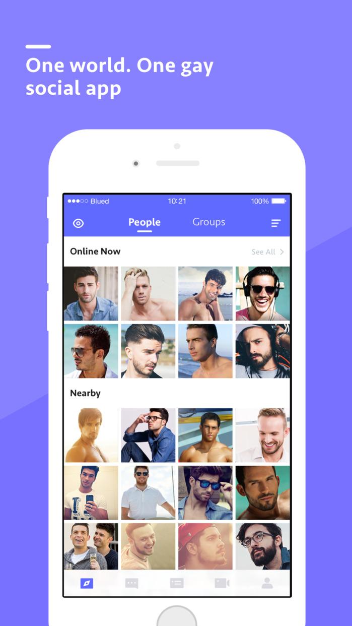 Gay network app