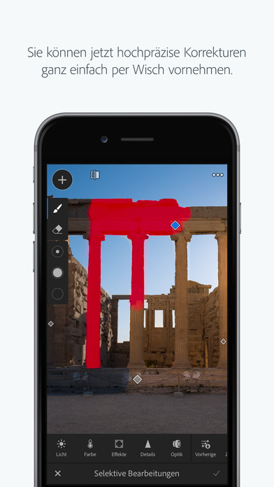 Lightroom Mobile mit großen Updates Android iOS Software