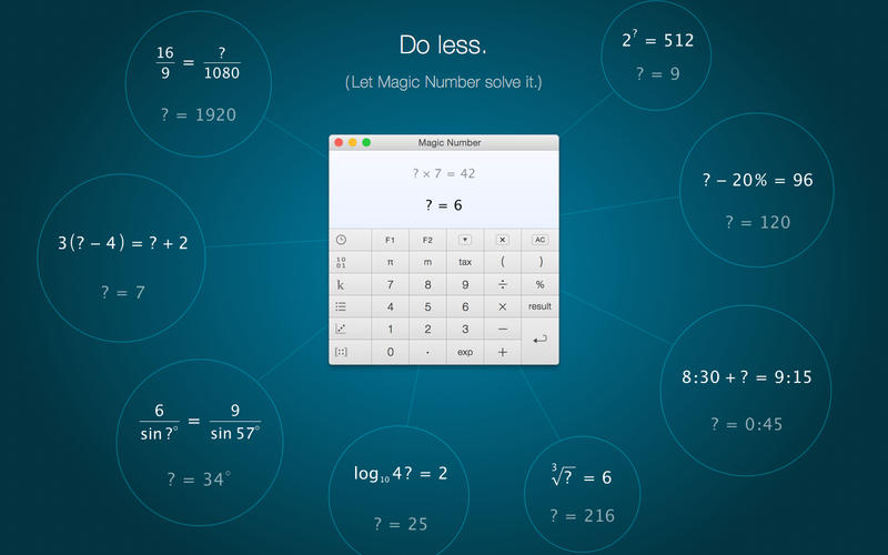 Magic Number – The Smart Calculator Screenshot