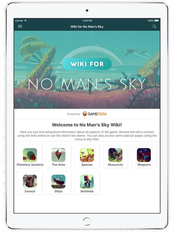 Wiki for No Man's Sky par Curse, Inc