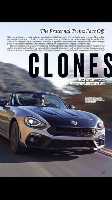 Car and Driver Magazine US Screenshot