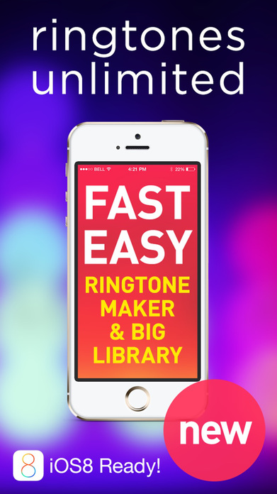 Ringtones for iPhone FREE & music Ringtone Maker! Screenshot