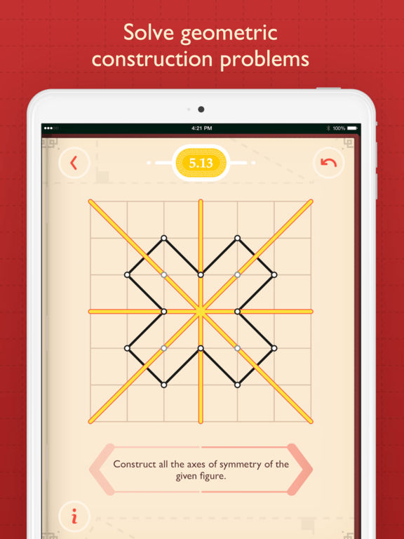 Pythagorea: Geometry on Square Grid Screenshot