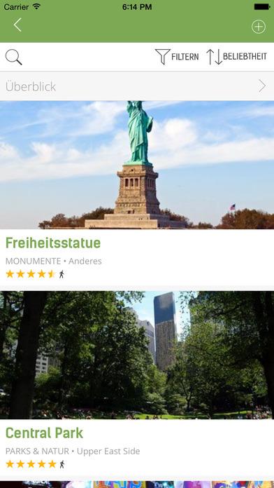 New York Reiseführer (Offline Stadtplan) - mTrip Screenshots