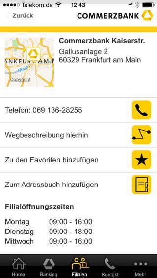 commerzbank f r iphone ipod touch und ipad im app store von itunes. Black Bedroom Furniture Sets. Home Design Ideas