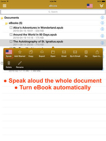 ReadToMe (Text/Web/Doc-to-Speech) Screenshot