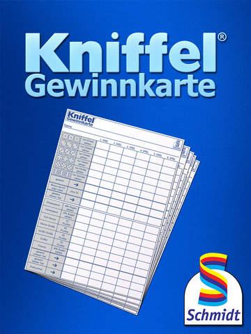 Kniffelblock Din A5