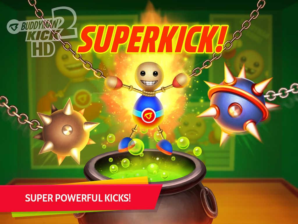 Buddyman: Kick 2 HD (by Kick the Buddy) Screenshot