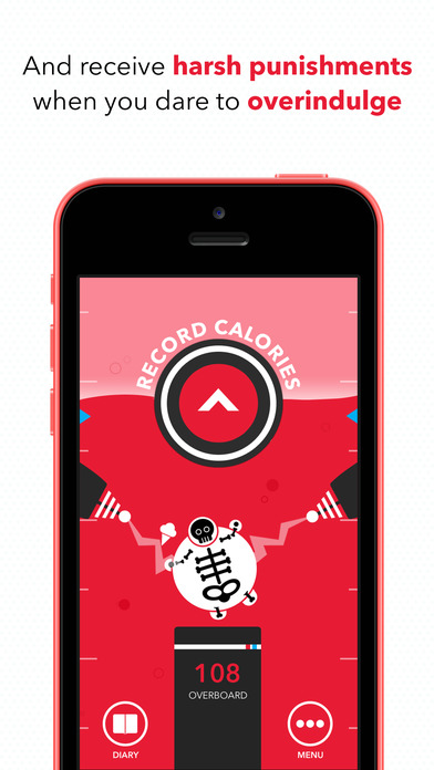 CARROT Hunger - Talking Calorie Counter Screenshot