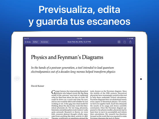 Scanner Pro - Escáner PDF de documentos con OCR Screenshot