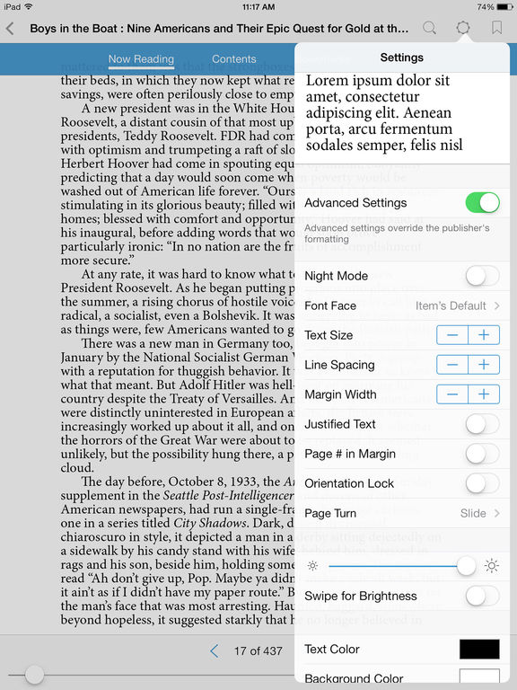 Bluefire Reader Screenshot