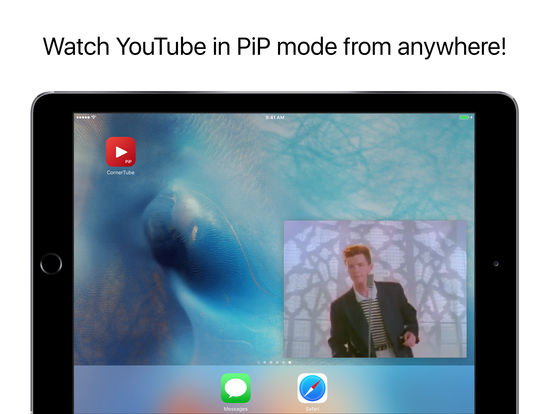 CornerTube - PiP Player for YouTube Screenshot