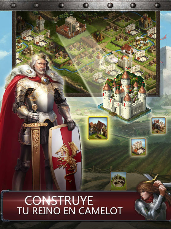 Kingdoms of Camelot: La Batalla del Norte ® Screenshot