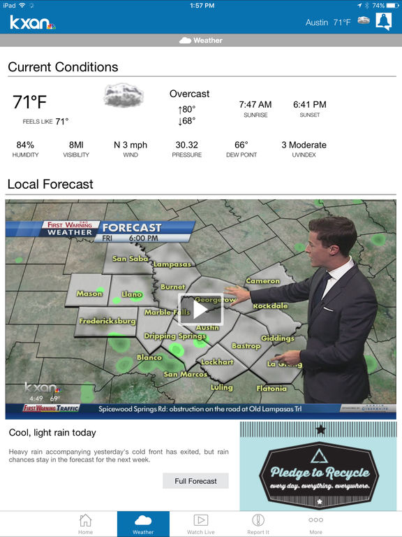 Kxan Weather App For Iphone