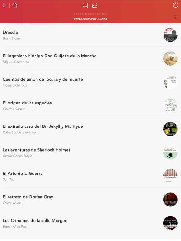eBook Search - Libros gratis para iBooks y más Screenshot