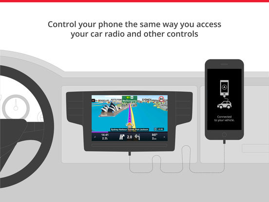 Sygic Car Navigation Screenshot