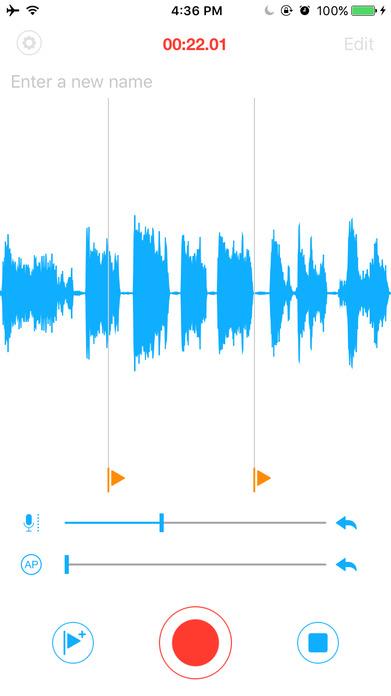 Voice Recorder PRO - Recording App Screenshot