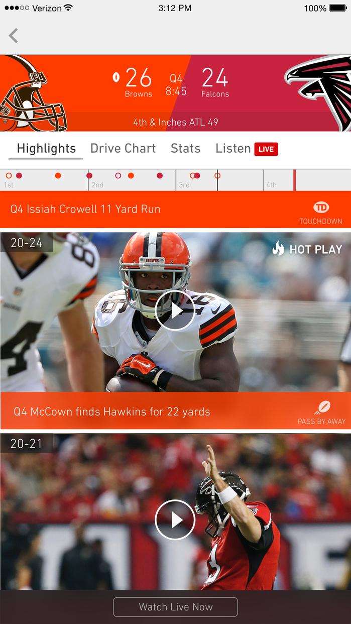 NFL Screenshot