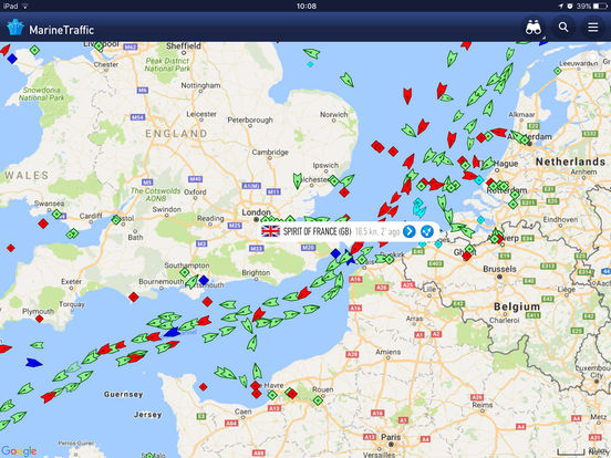 marine traffic app iphone free