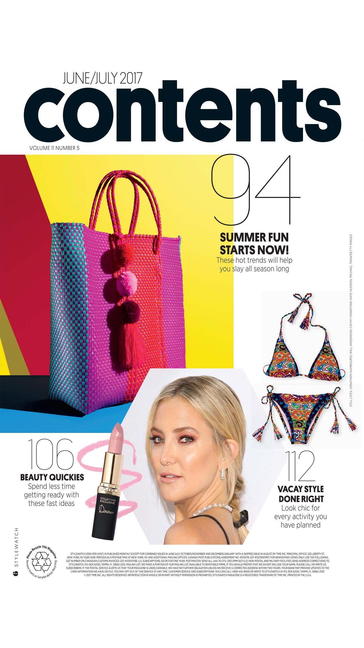 STYLEWATCH Magazine Screenshot