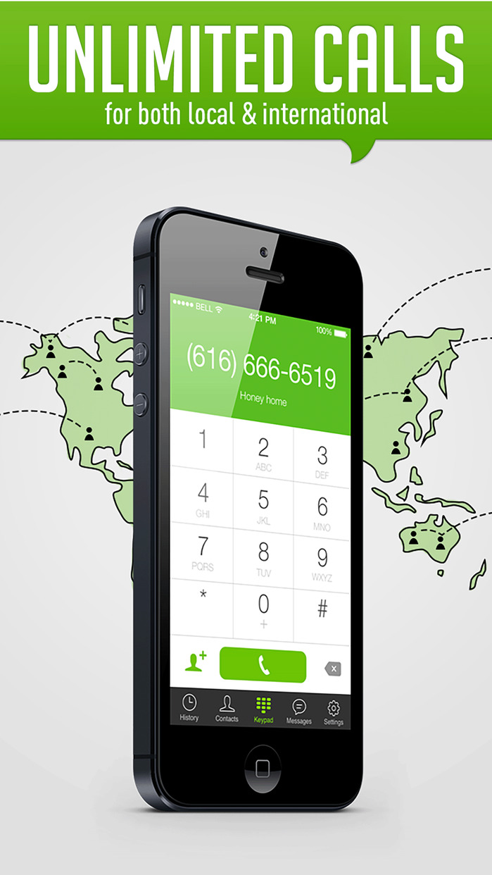 HiTalk - Unlimited International and local calling Screenshot