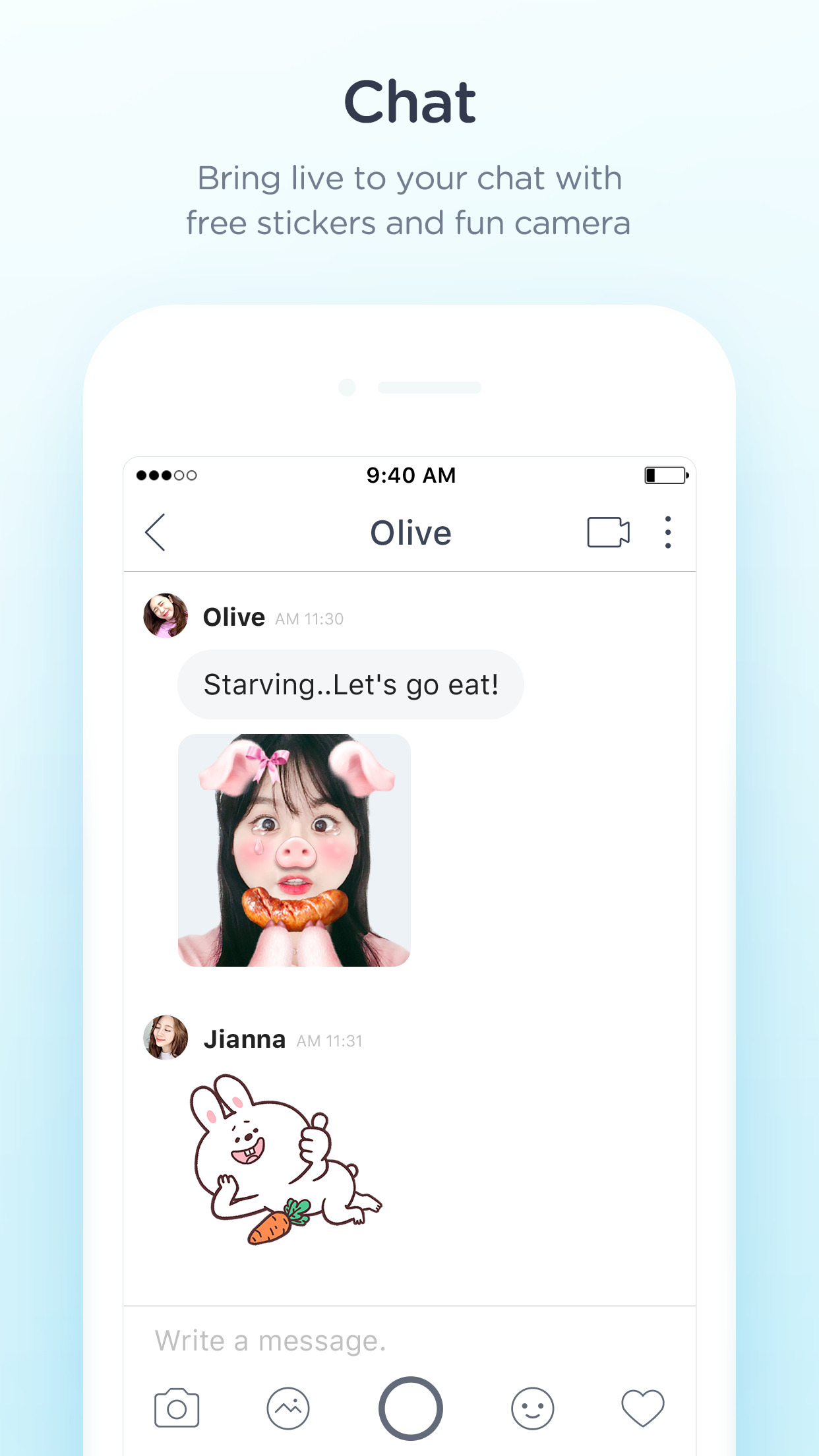 SNOW - Fun camera & Video call Screenshot