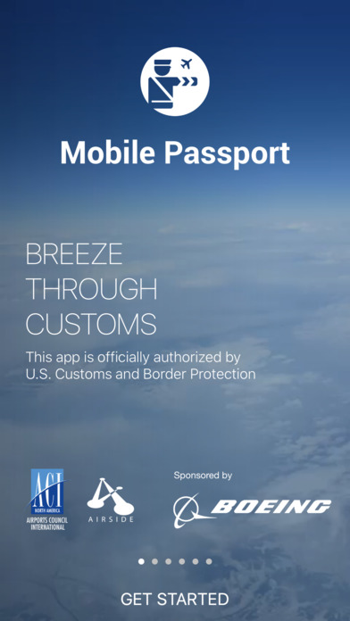 Mobile Passport - Officially Authorized by CBP Screenshot