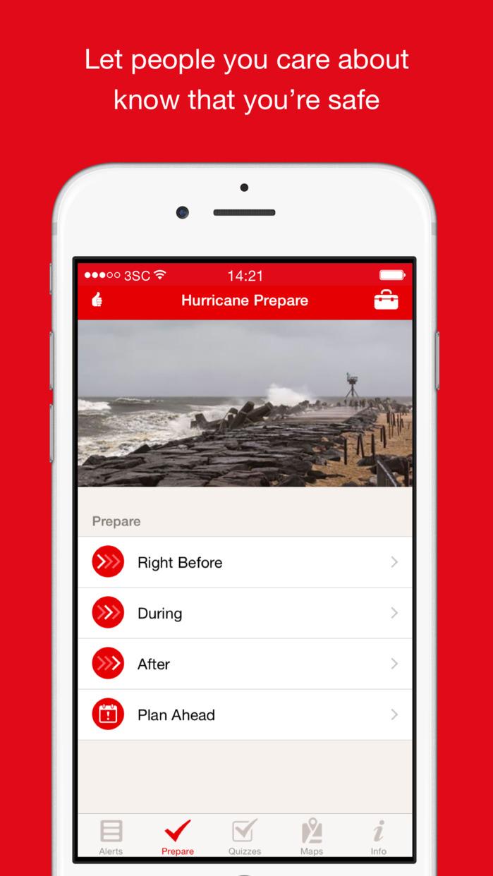 Hurricane by American Red Cross Screenshot