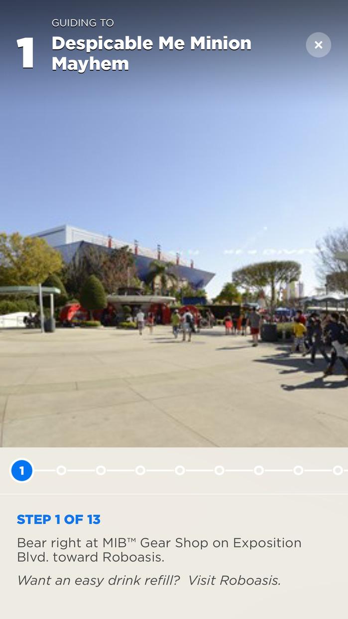 The Official Universal Orlando® Resort App Screenshot