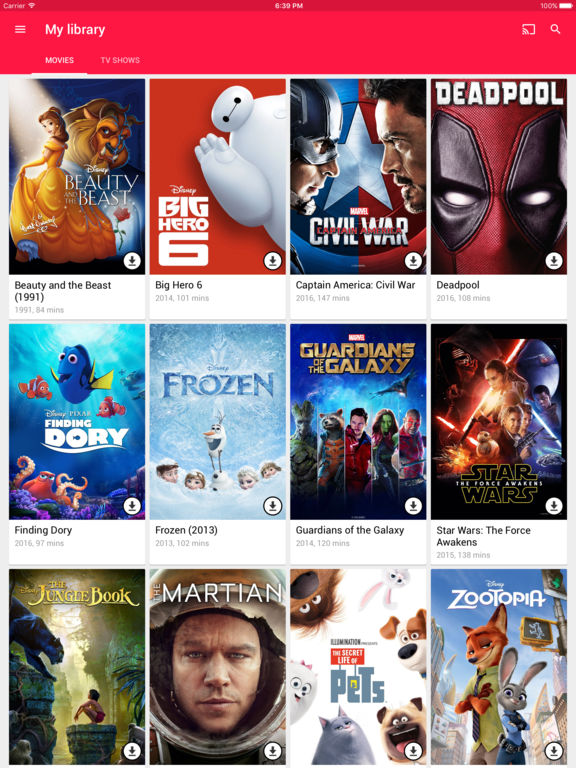 Google Play Movies & TV IPA Cracked for iOS Free Download